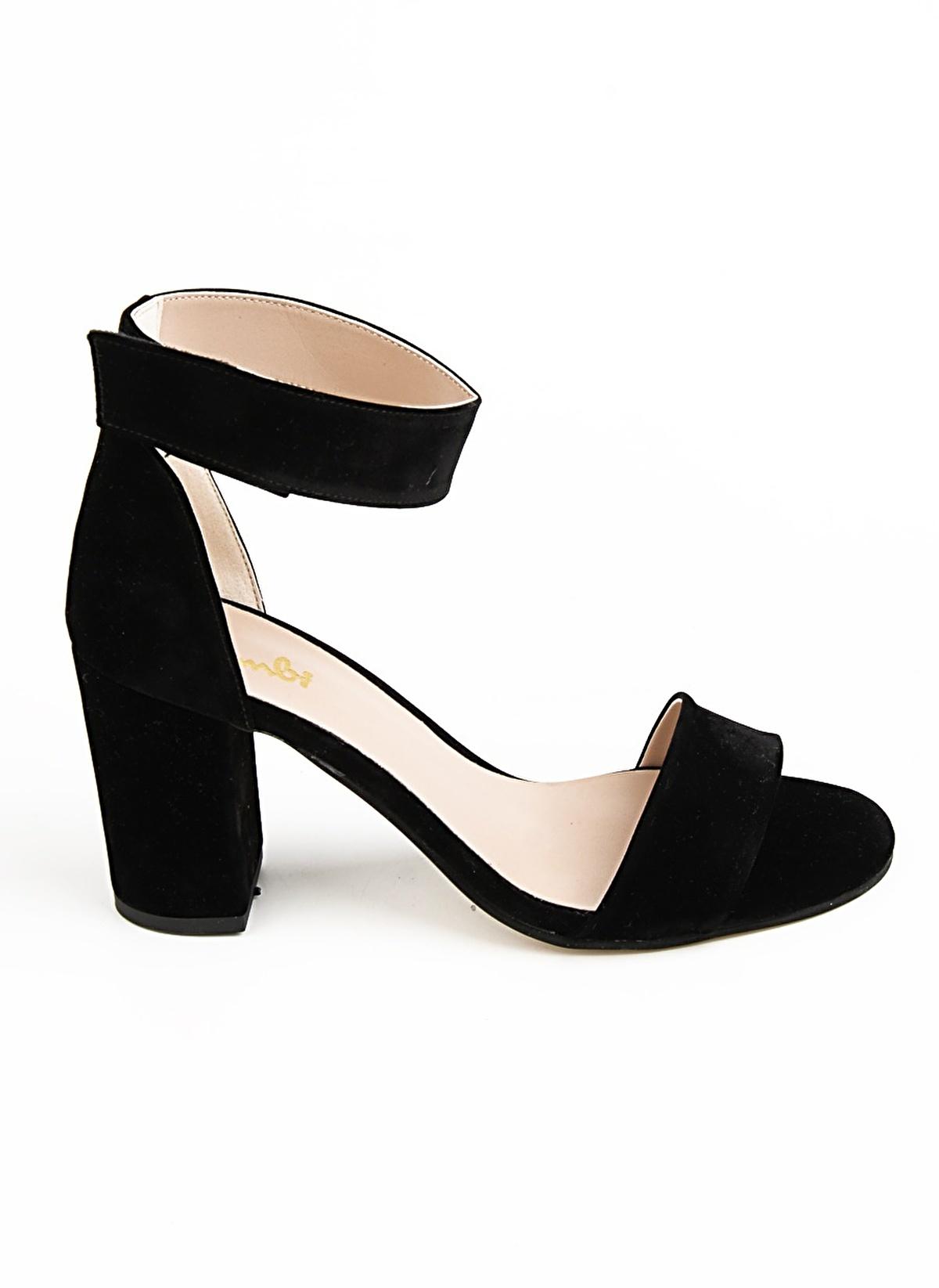 Bambi     D0120900072 Taba Kadın Topuklu Ayakkabı